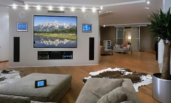 Home Theater Speakers Installation Design And Ideas