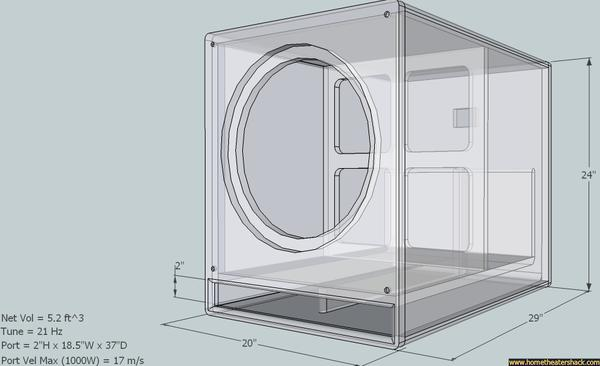 home theater subwoofer plans 187 design and ideas