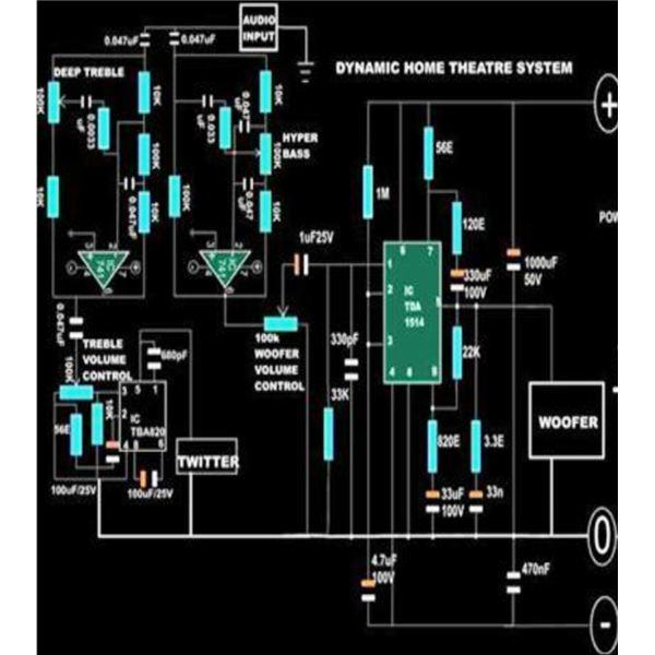 home theater system circuit diagram » Design and Ideas