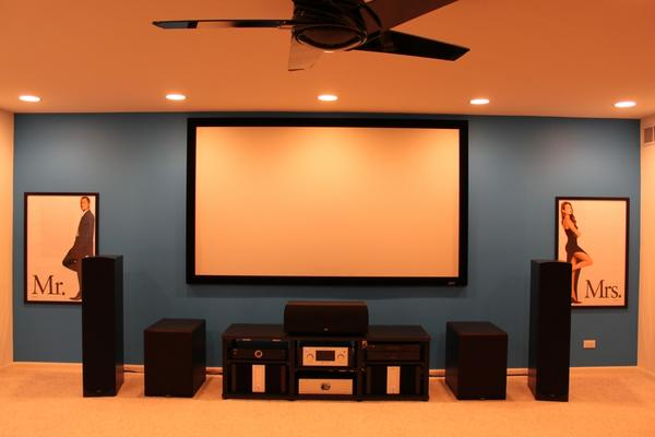 home theater systems design and ideas. Black Bedroom Furniture Sets. Home Design Ideas