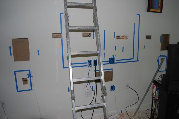 home theater wiring in wall design and ideas rh ctcwi net pre wiring for home theater electric wiring for a home theater