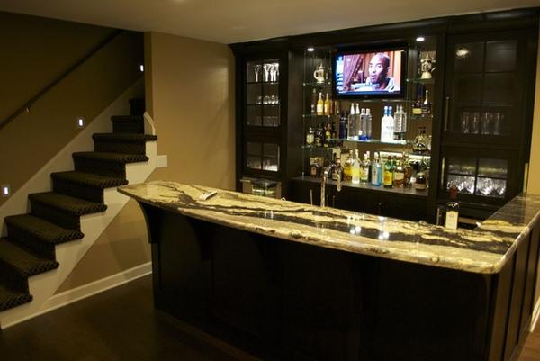 home theater with bar design » Design and Ideas
