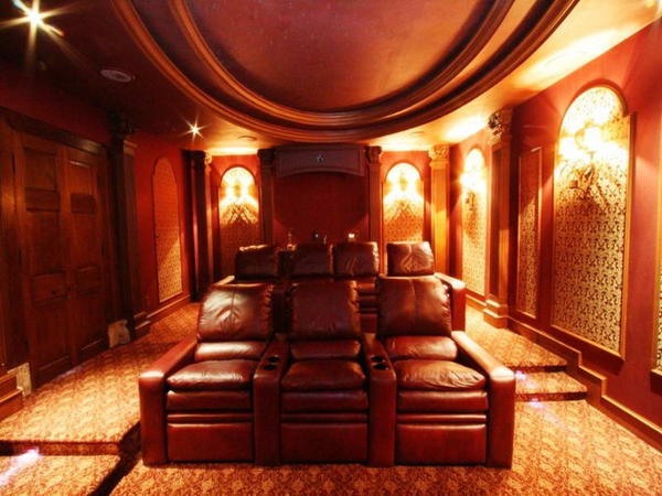 Home theater chairs design and ideas Home theater furniture amazon