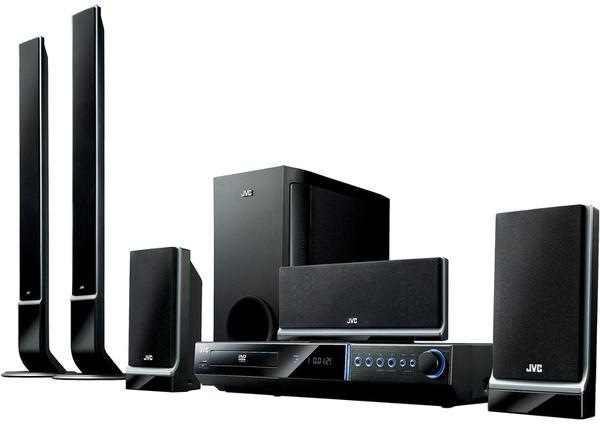jvc 5 1 home theater system design and ideas. Black Bedroom Furniture Sets. Home Design Ideas