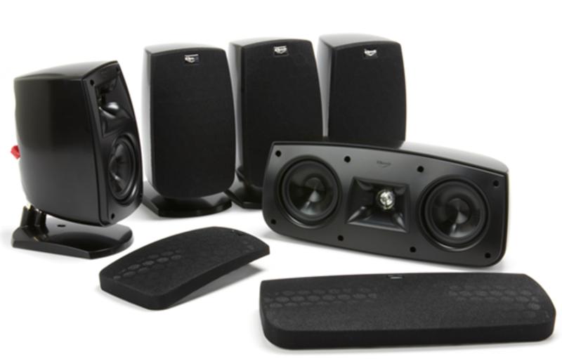 klipsch quintet 5 0 home theater speaker system review design and ideas. Black Bedroom Furniture Sets. Home Design Ideas