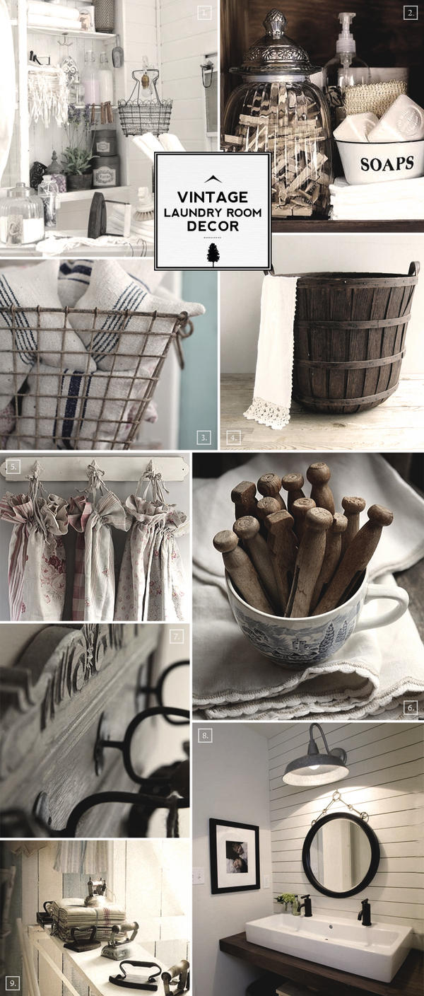 Vintage Laundry Room Accessories Laundry Room Decorating Ideas Vintage » Design And Ideas