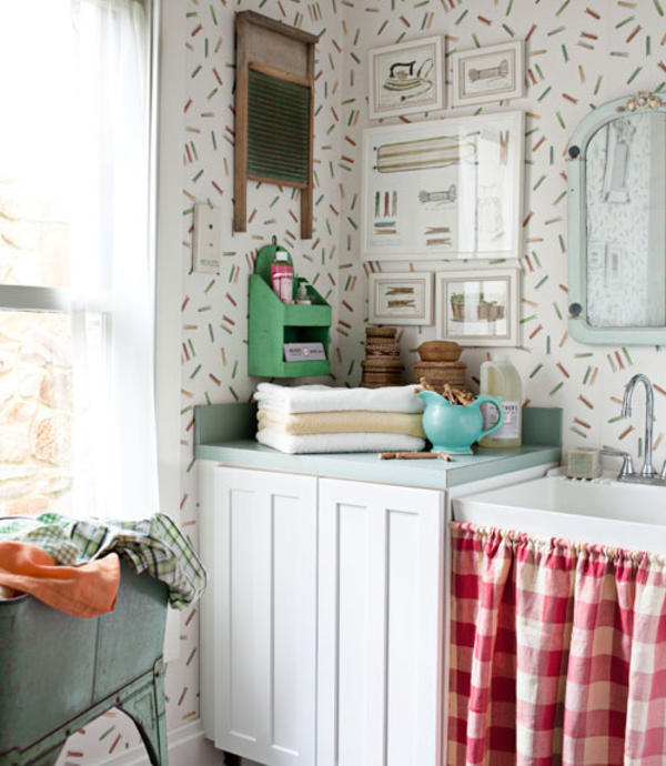 laundry room decorations vintage design and ideas