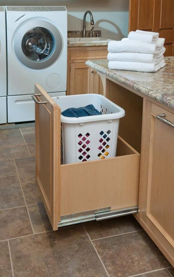 laundry room hamper cabinets » Design and Ideas