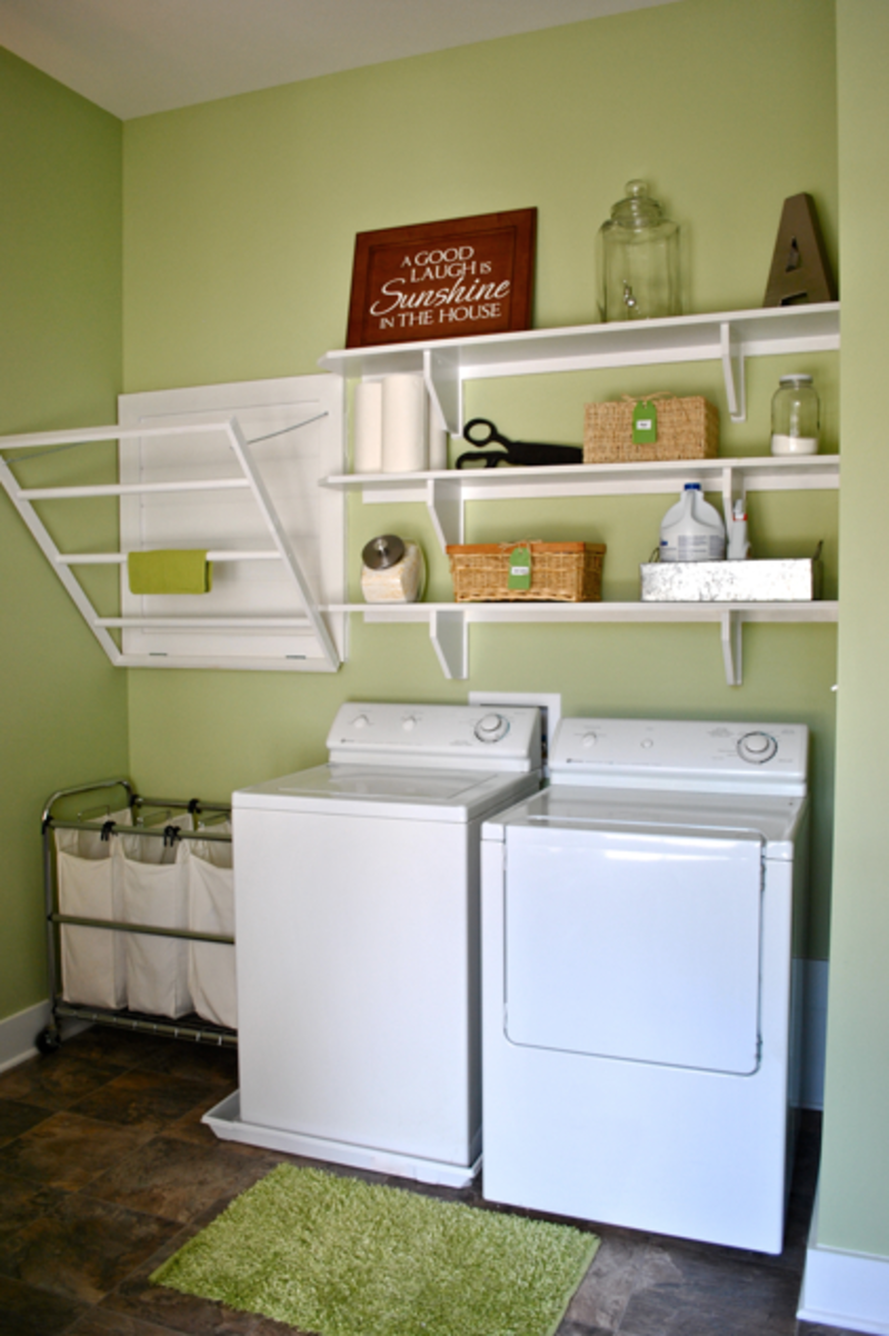 Laundry room ideas budget design and ideas for Laundry room ideas small budget