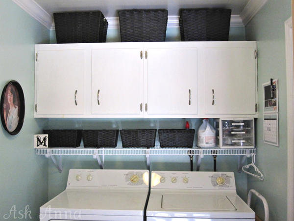 Laundry Room Organization Shelves Design And Ideas