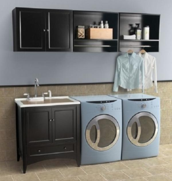 laundry room sink and vanity Design and Ideas