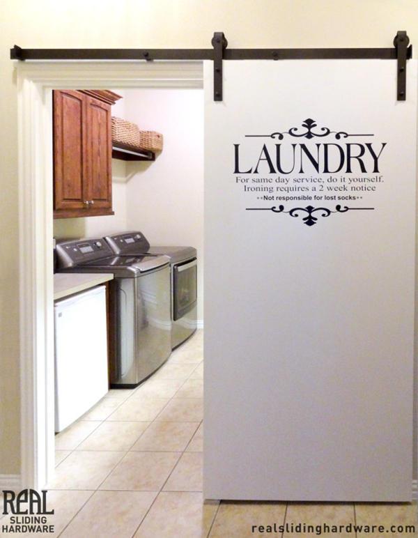 Laundry room sliding doors design and ideas for Laundry room sliding doors