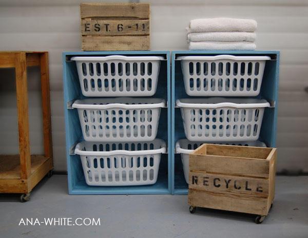 Laundry Room Storage Baskets