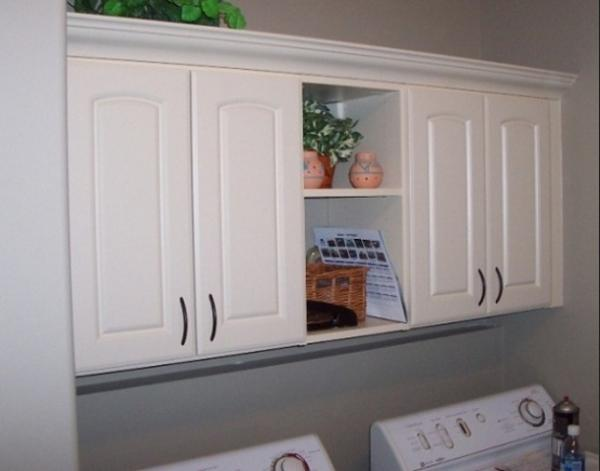 Awesome Laundry Room Storage Cabinets With Doors