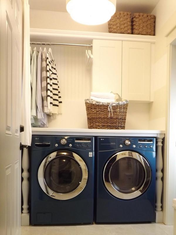 Laundry Room Storage Cabinets With Doors Design And Ideas