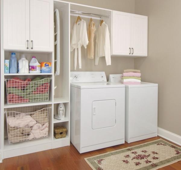 Laundry Room Storage Cabinets Design And Ideas