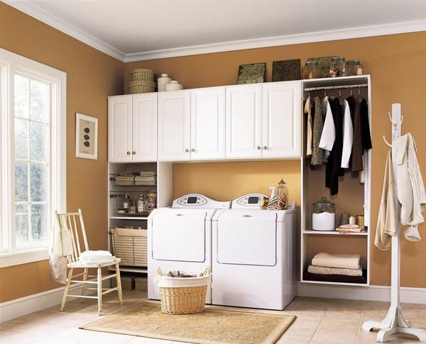Laundry room cabinets design and ideas laundry room tall cabinets solutioingenieria Image collections