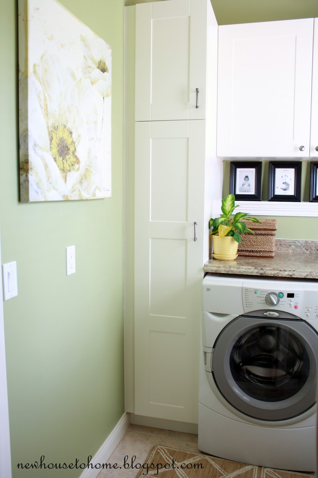 Laundry room tall cabinets design and ideas for Cupboards for laundry room