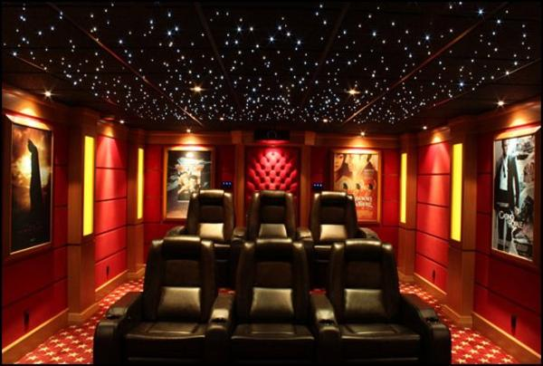 movie theater decor for the home design and ideas