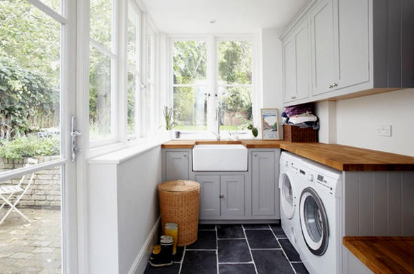 Outdoor laundry room design ideas