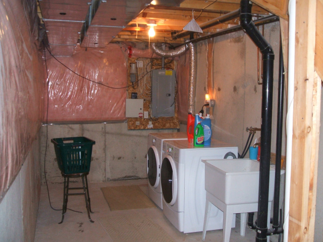 unfinished laundry room ideas Design and Ideas