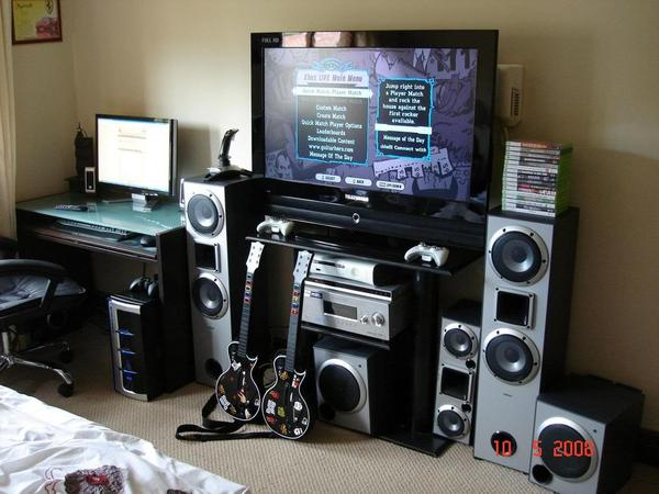 Xbox 360 Home Theater Setup Design And Ideas