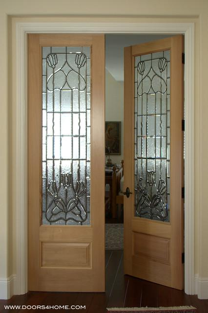 beveled glass interior french doors » Design and Ideas