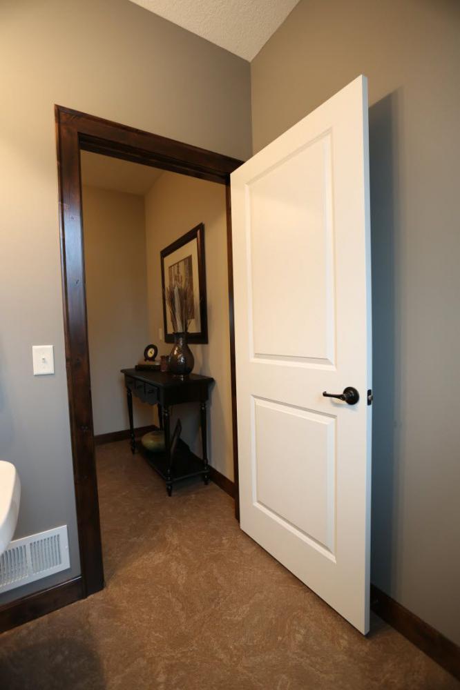 Black Interior Doors White Trim Design And Ideas