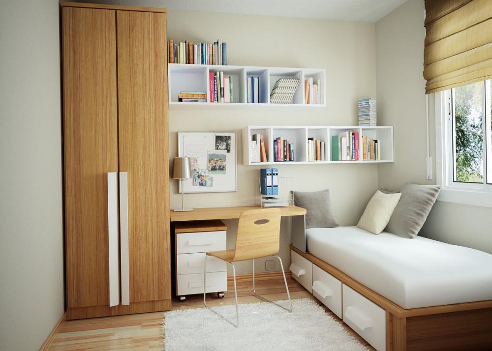 Interior design for bedroom small space design and ideas for Small space interior designs
