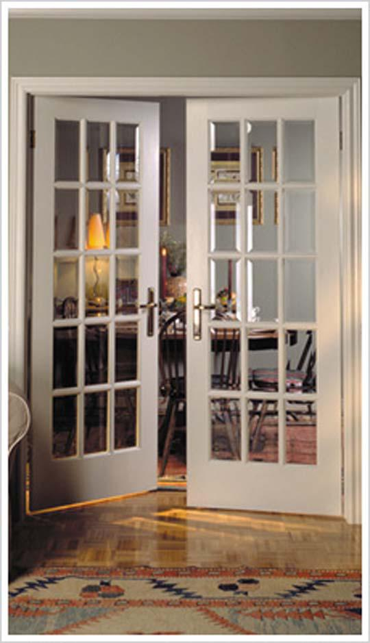 Interior Wooden French Doors With Glass Design And Ideas