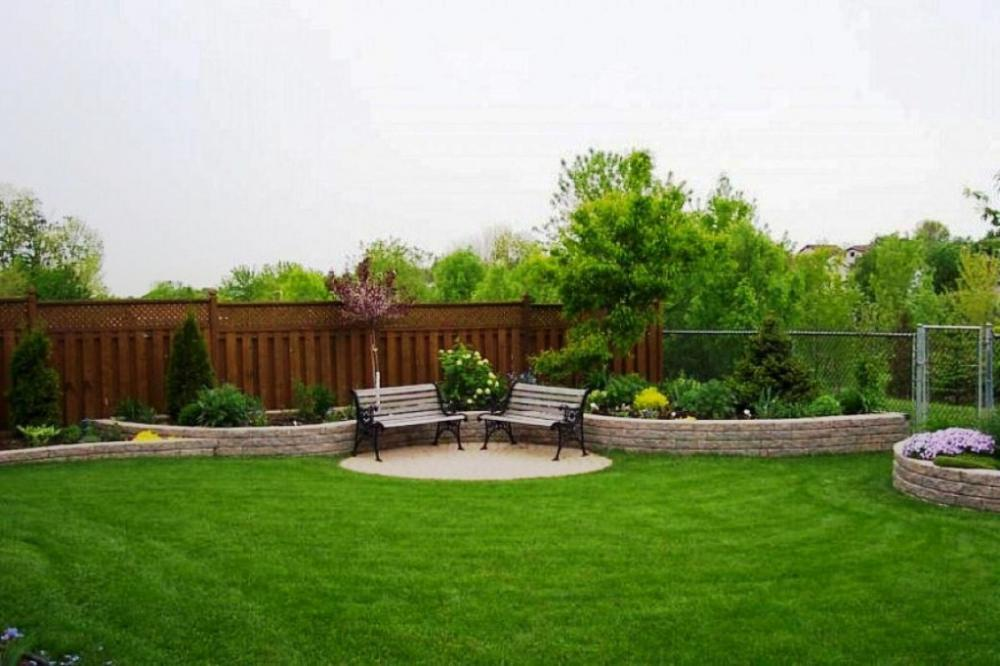 Large backyard design ideas design and ideas for Large backyard landscaping ideas