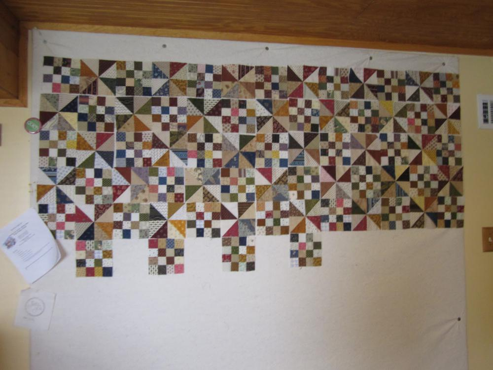 Design Wall Quilts Retractable : Retractable design wall for quilting ? and ideas