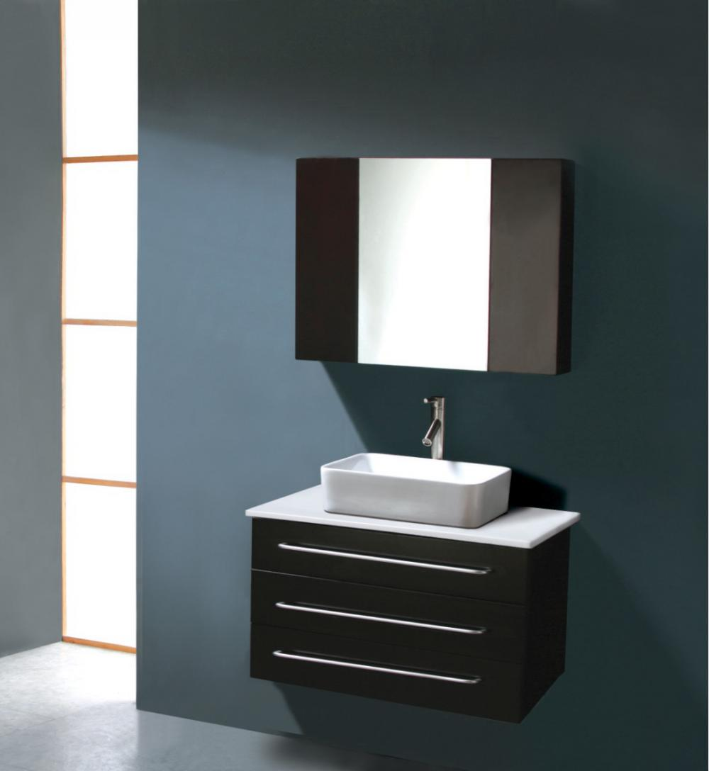 Small Modern Bathroom Vanity