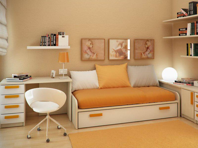 small modern bedroom designs - Small Modern Bedroom Decorating Ideas