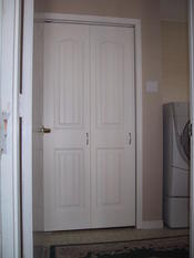 Laundry Room Accordion Doors